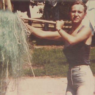 Foto von der Fischerin Edith aus den 80er-Jahren (Foto: SWR)