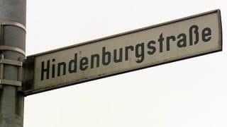 Die Hindenburgstraße in Trier soll so nicht mehr heißen (Foto: SWR, SWR)