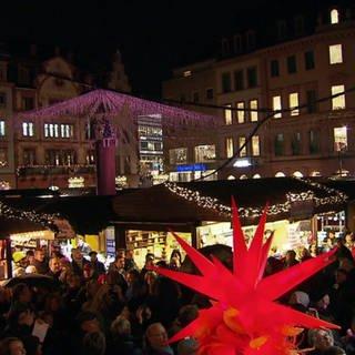 Die Anfänge der Mainzer Weihnachtsmarktes (Foto: SWR)