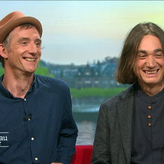 "Das Musikduo ""Broom Bezzums"" (Foto: SWR, SWR)"