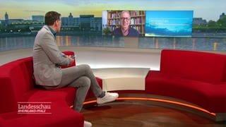 Video Chat mit Pfarrer Peter Annweiler (Foto: SWR)