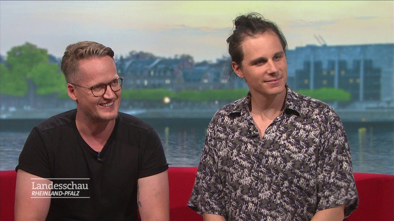 Musiker Alexander Zwick und Daniel Juschzak (Foto: SWR)
