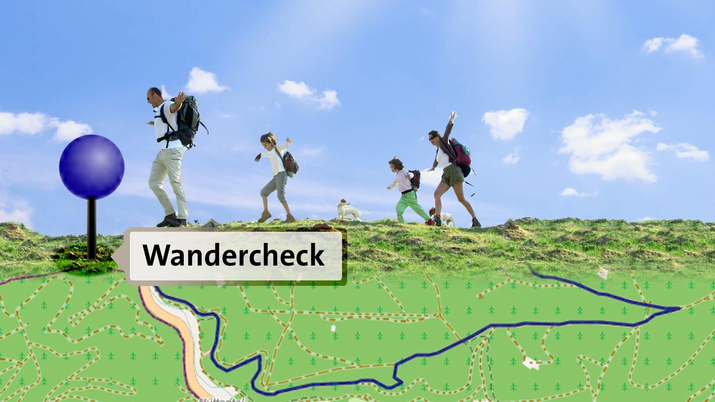 Wandercheck (Foto: SWR)