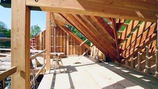 Ausbau mit Holz (Foto: SWR, Ausbau mit Holz)