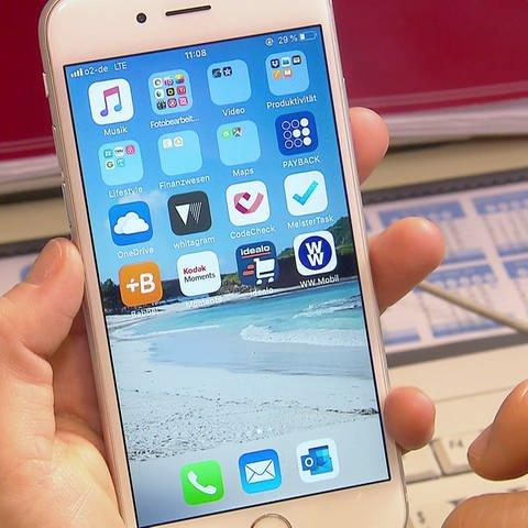 iPhone Bildschirm - Vor dem Online-Shopping: Cookies löschen! (Foto: SWR)