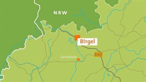 Karte Birgel (Foto: SWR, SWR -)