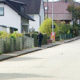 Schweifeld - Die Schweifelder Straße (Foto: SWR)