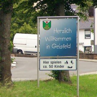 Geisfeld - Eine Straßenansicht (Foto: SWR)