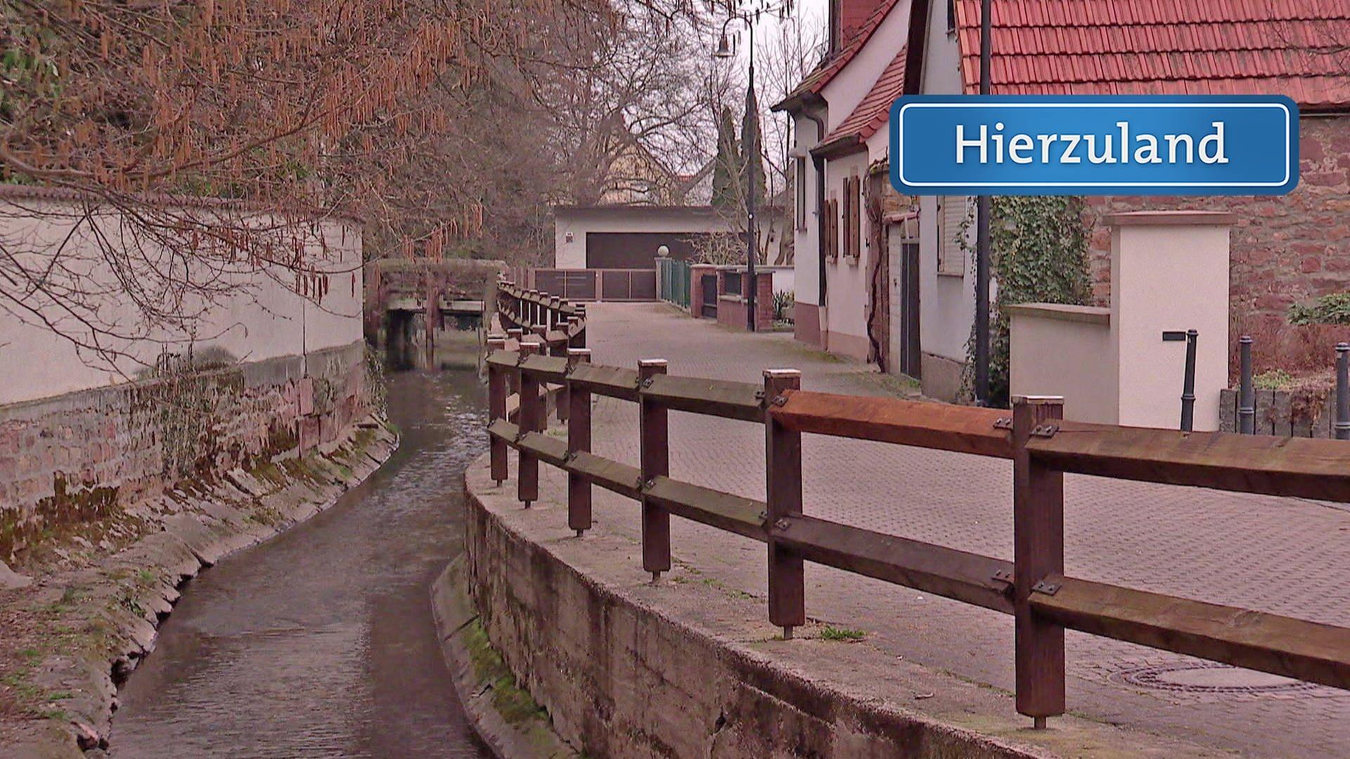 Der Bachweg In Kleinkarlbach