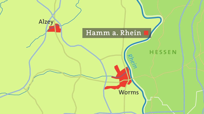 Hamm Karte.Die Landdammstraße In Hamm Am Rhein Hierzuland Landesschau