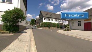 Hierzuland Ohlweiler Hauptstraße Schild (Foto: SWR)