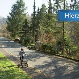 Hierzuland Schild Gemünden Mühlweg (Foto: SWR)
