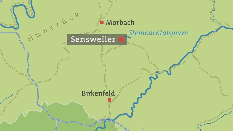 Hunsrück Hochwald Karte.Die Hauptstraße In Sensweiler Hierzuland Landesschau Rheinland