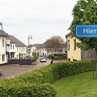 HZL Thomm Schild Straße (Foto: SWR)