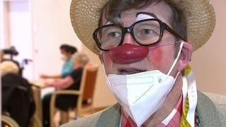 Dietmar Bertram - Clown-Doktor in Krankenhäusern und Altenheimen (Foto: SWR, SWR)