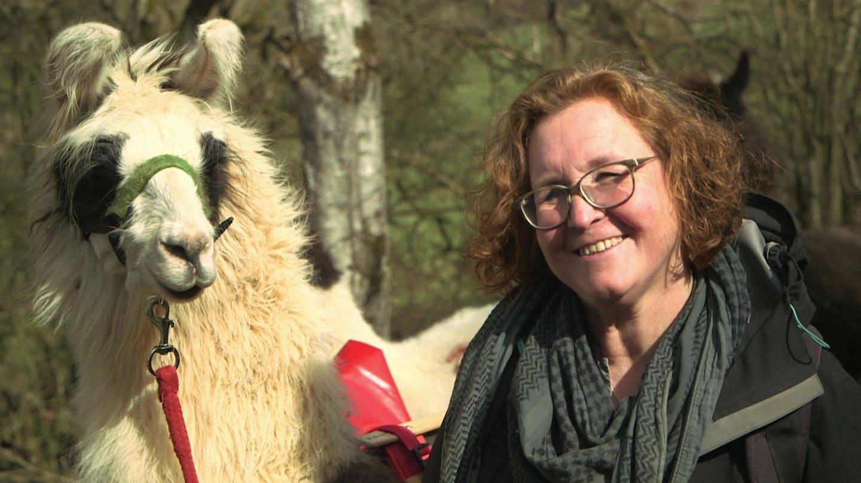 Was Julietta Baums aus ihrer Liebe zu Lamas und Kamelen macht (Foto: SWR, SWR)