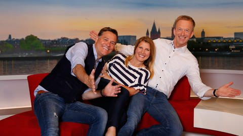 Martin Seidler, Patricia Küll, Holger Wienpahl (Foto: SWR)