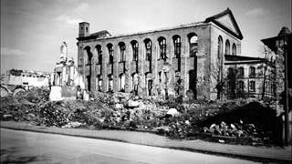 Die zerstörte Konstantinbasilika in Trier. (Foto: SWR)