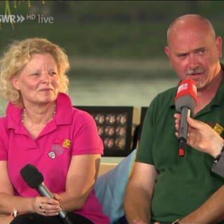 Angela Lönnecke und Fred Wrane aus Bad Hönningen - Macher der 1.000-Jahr-Feier (Foto: SWR, SWR)