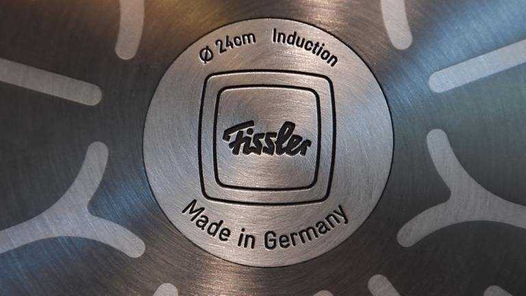"Topfboden, Fissler, ""Made in Germany"" (Foto: picture-alliance / dpa, picture-alliance / dpa -)"