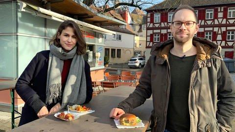 """Katharina Röben und Tobias Koch moderieren """"Die Ökochecker"""" im SWR YouTube und Instagram (Foto: SWR)"""