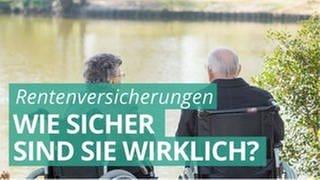 Ein älterer Mann und eine ältere Frau sitzen im Rollstuhl an einem See, der von einer grünen Wiese und Bäumen umgeben ist. (Foto: Colourbox, COLOURBOX25966188)