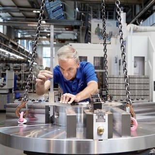 Heller produziert CNC Werkzeugmaschinen und Fertigungssysteme (Foto: Pressestelle, Gebr. Heller Maschinenfabrik GmbH)