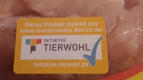 Label Initiative Tierwohl (Foto: SWR, SWR - Alice Thiel-Sonnen)