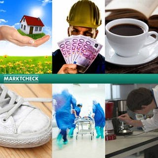 Sendungscollage Marktcheck (Foto: Colourbox, Getty Images, SWR, Montage SWR)