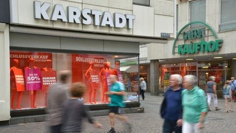 Kaufhof Karstadt (Foto: picture-alliance / dpa, picture-alliance / dpa -)