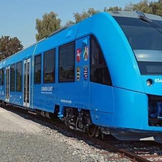 Ein moderner Brennstoffzellen-Zug des Herstellers Alstom (Foto: SWR, Alstom - Foto: Michael Wittwer/Alstom/dpa)