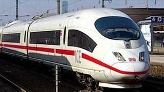 Ein ICE-Zug (Foto: SWR, SWR -)