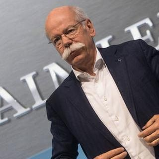 Daimler-Chef Dieter Zetsche (Foto: picture-alliance / dpa, picture-alliance / dpa -)