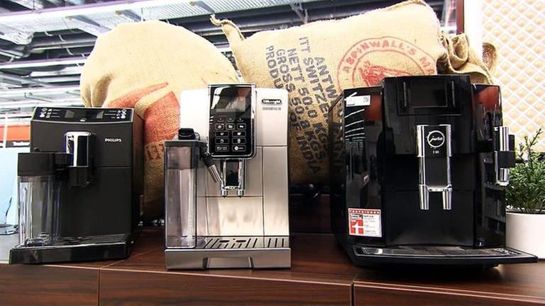 Drei Kaffee-Vollautomaten (Foto: SWR, SWR -)