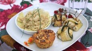 Ziegenkäse-Zucchini-Päckchen (Foto: SWR, SWR/megaherz)