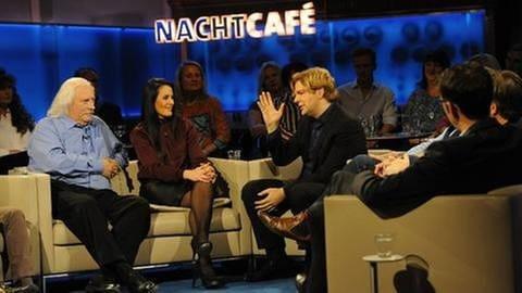 Toni Gräff, Silvana Joppich, Michael Steinbrecher und Heinrich Strößenreuther (von hinten) (v.li.) (Foto: SWR, SWR - Tom Oettle)