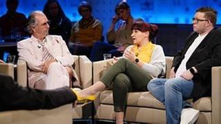 Hans Schenker, Britta Besser, Sven Finke-Bieger (von links) (Foto: SWR, SWR - Baschi Bender)