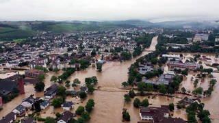 Jahrhundert-Hochwasser (Foto: SWR)