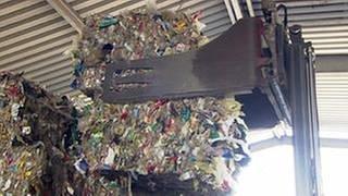 Ein großer Berg Plastikmüll (Foto: SWR, SWR -)