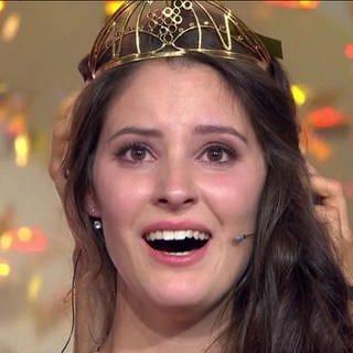 Angelina Vogt ist überglücklich. (Foto: SWR)
